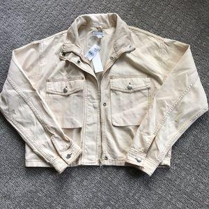 Topshop Tan Jacket
